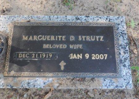 STRUTZ, MARGUERITE DOROTHY - Parker County, Texas   MARGUERITE DOROTHY STRUTZ - Texas Gravestone Photos