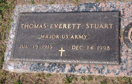 STUART (VETERAN 2WARS), THOMAS EVERETT - Parker County, Texas | THOMAS EVERETT STUART (VETERAN 2WARS) - Texas Gravestone Photos