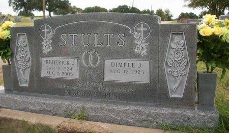 STULTS, FREDERICK JACKSON - Parker County, Texas | FREDERICK JACKSON STULTS - Texas Gravestone Photos
