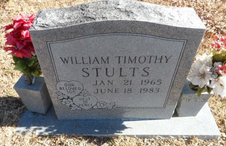 STULTS, WILLIAM TIMOTHY - Parker County, Texas | WILLIAM TIMOTHY STULTS - Texas Gravestone Photos
