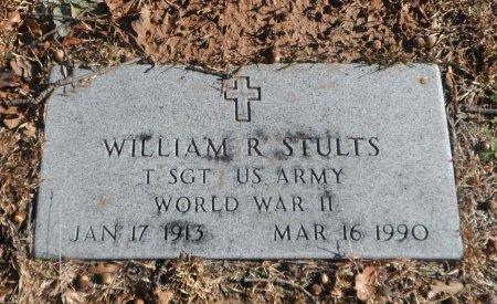 STULTS(VETERAN WWII), WILLIAM RAYMOND - Parker County, Texas | WILLIAM RAYMOND STULTS(VETERAN WWII) - Texas Gravestone Photos