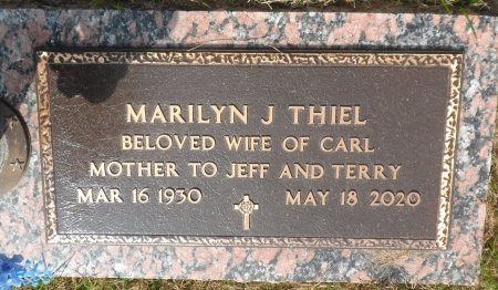 THIEL, MARILYN JEAN - Parker County, Texas | MARILYN JEAN THIEL - Texas Gravestone Photos