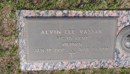 VASSAR (VETERAN VIET), ALVIN LEE - Parker County, Texas | ALVIN LEE VASSAR (VETERAN VIET) - Texas Gravestone Photos
