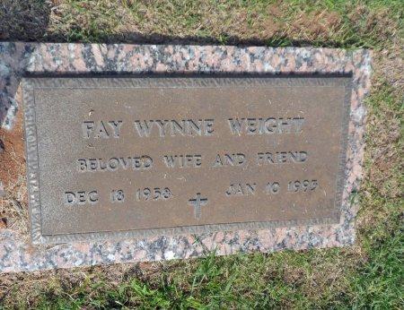 WYNNE WEIGHT, FAY ANN - Parker County, Texas   FAY ANN WYNNE WEIGHT - Texas Gravestone Photos