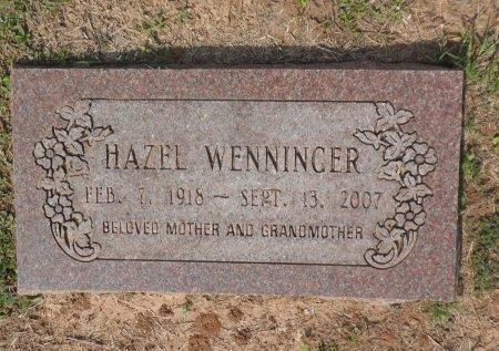 HANDY WENNINGER, HAZEL AUGUSTA - Parker County, Texas | HAZEL AUGUSTA HANDY WENNINGER - Texas Gravestone Photos