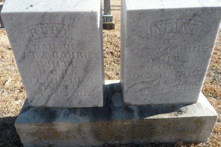 WHITE, INFANT - Parker County, Texas | INFANT WHITE - Texas Gravestone Photos