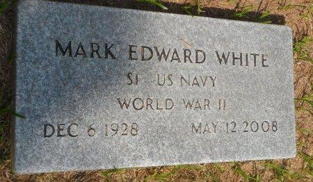 WHITE (VETERAN WWII), MARK EDWARD - Parker County, Texas | MARK EDWARD WHITE (VETERAN WWII) - Texas Gravestone Photos