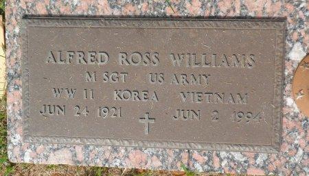 WILLIAMS (VETERAN 3WARS), ALFRED ROSS - Parker County, Texas | ALFRED ROSS WILLIAMS (VETERAN 3WARS) - Texas Gravestone Photos