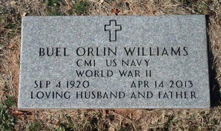 WILLIAMS (VETERAN WWII), BUEL ORLIN - Parker County, Texas   BUEL ORLIN WILLIAMS (VETERAN WWII) - Texas Gravestone Photos