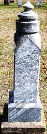 WILLIAMS, WILLIAM H. - Parker County, Texas | WILLIAM H. WILLIAMS - Texas Gravestone Photos
