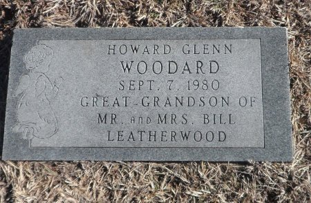 WOODARD, HOWARD GLENN - Parker County, Texas | HOWARD GLENN WOODARD - Texas Gravestone Photos