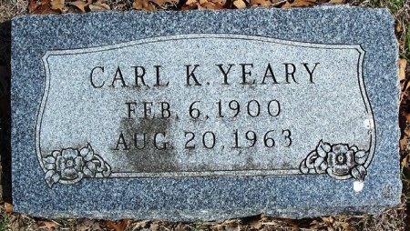 YEARY, CARL K. - Parker County, Texas | CARL K. YEARY - Texas Gravestone Photos