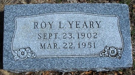 YEARY, ROY L. - Parker County, Texas   ROY L. YEARY - Texas Gravestone Photos