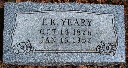 "YEARY, THOMAS KIZER ""TOM"" - Parker County, Texas   THOMAS KIZER ""TOM"" YEARY - Texas Gravestone Photos"