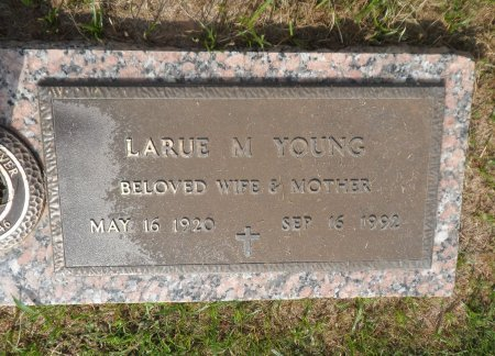 RATTS YOUNG, LARUE MILDRED - Parker County, Texas | LARUE MILDRED RATTS YOUNG - Texas Gravestone Photos