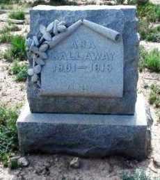 GALLAWAY, ASA - Pecos County, Texas | ASA GALLAWAY - Texas Gravestone Photos