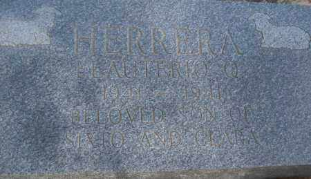HERRERA, ELAUTERIO Q. - Pecos County, Texas   ELAUTERIO Q. HERRERA - Texas Gravestone Photos
