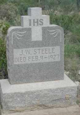 STEELE, J.W. - Pecos County, Texas   J.W. STEELE - Texas Gravestone Photos