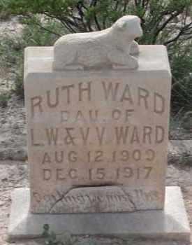 WARD, RUTH - Pecos County, Texas | RUTH WARD - Texas Gravestone Photos