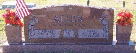 PARIS ALLEN, E. MEARL - Rains County, Texas | E. MEARL PARIS ALLEN - Texas Gravestone Photos