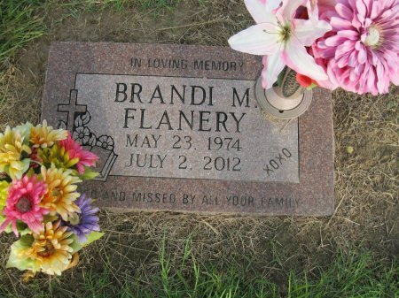 FLANERY, BRANDI M - Rains County, Texas | BRANDI M FLANERY - Texas Gravestone Photos