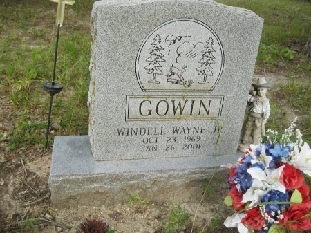 GOWIN, JR, WINDELL WAYNE - Rains County, Texas | WINDELL WAYNE GOWIN, JR - Texas Gravestone Photos