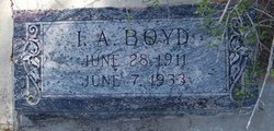 BOYD, ISAAC A. - Reagan County, Texas | ISAAC A. BOYD - Texas Gravestone Photos