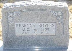 BOYLES, REBECCA - Reagan County, Texas | REBECCA BOYLES - Texas Gravestone Photos