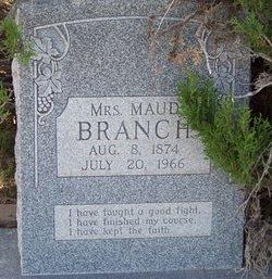 WOOD BRANCH, MAUD - Reagan County, Texas | MAUD WOOD BRANCH - Texas Gravestone Photos