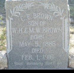 BROWN, C. E. - Reagan County, Texas   C. E. BROWN - Texas Gravestone Photos