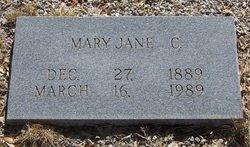 ANDERSON CAUBLE, JULIA MARY JANE - Reagan County, Texas | JULIA MARY JANE ANDERSON CAUBLE - Texas Gravestone Photos