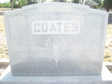 JAYROE COATES, SICILY - Reagan County, Texas | SICILY JAYROE COATES - Texas Gravestone Photos
