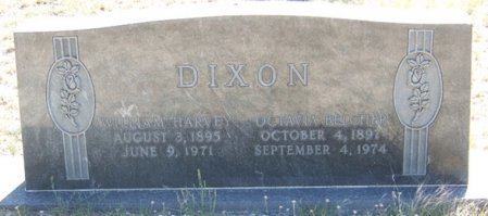 DIXON, WILLIAM HARVEY - Reagan County, Texas | WILLIAM HARVEY DIXON - Texas Gravestone Photos