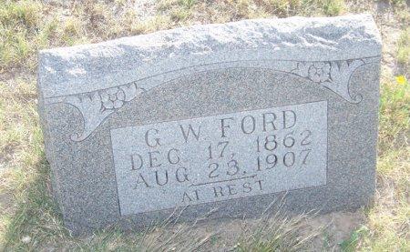FORD, G. W. - Reagan County, Texas | G. W. FORD - Texas Gravestone Photos