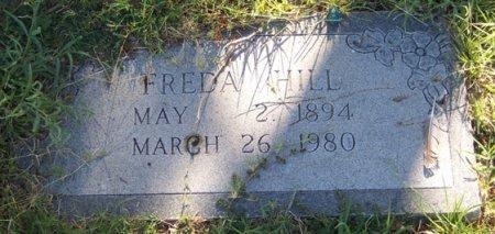 HILL, FREDA - Reagan County, Texas   FREDA HILL - Texas Gravestone Photos