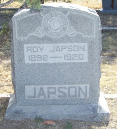 JAPSON, ROY - Reagan County, Texas | ROY JAPSON - Texas Gravestone Photos