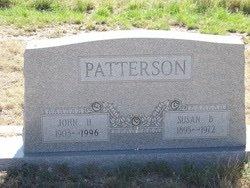 PATTERSON, JOHN HAROLD - Reagan County, Texas | JOHN HAROLD PATTERSON - Texas Gravestone Photos