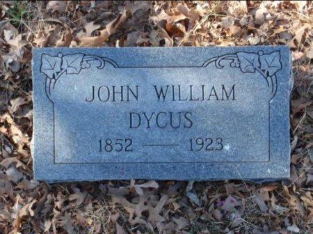 DYCUS, JOHN WILLIAM - Red River County, Texas | JOHN WILLIAM DYCUS - Texas Gravestone Photos