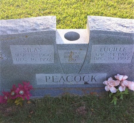 PEACOCK, LUCILLE - Red River County, Texas | LUCILLE PEACOCK - Texas Gravestone Photos