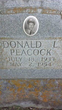 PEACOCK (VETERAN), DONALD L. - Red River County, Texas | DONALD L. PEACOCK (VETERAN) - Texas Gravestone Photos