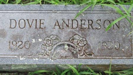 ANDERSON, DOVIE - Red River County, Texas | DOVIE ANDERSON - Texas Gravestone Photos