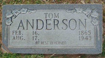 ANDERSON, TOM - Red River County, Texas | TOM ANDERSON - Texas Gravestone Photos