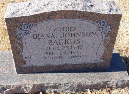 BACKUS, DIANA - Red River County, Texas | DIANA BACKUS - Texas Gravestone Photos