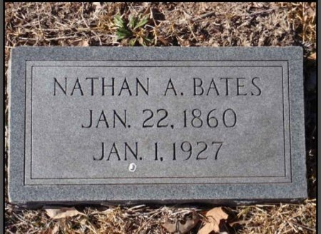 BATES, NATHAN A - Red River County, Texas | NATHAN A BATES - Texas Gravestone Photos