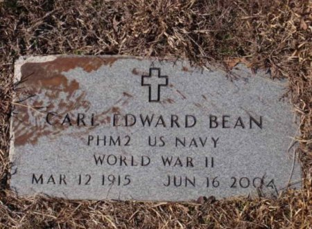 BEAN (VETERAN WWII), CARL EDWARD - Red River County, Texas | CARL EDWARD BEAN (VETERAN WWII) - Texas Gravestone Photos