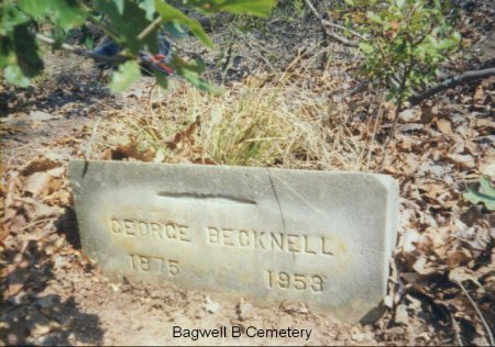 BECKNELL, GEORGE - Red River County, Texas   GEORGE BECKNELL - Texas Gravestone Photos