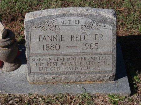 ESLICK BELCHER, FANNIE - Red River County, Texas | FANNIE ESLICK BELCHER - Texas Gravestone Photos
