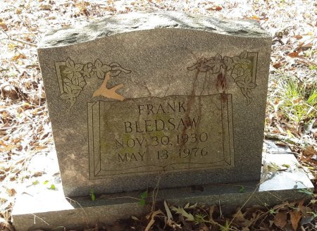 BLEDSAW, FRANK - Red River County, Texas | FRANK BLEDSAW - Texas Gravestone Photos