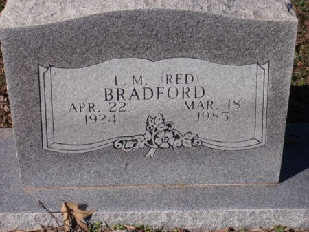 BRADFORD, L M - Red River County, Texas | L M BRADFORD - Texas Gravestone Photos