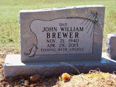 BREWER, JOHN WILLIAM - Red River County, Texas | JOHN WILLIAM BREWER - Texas Gravestone Photos